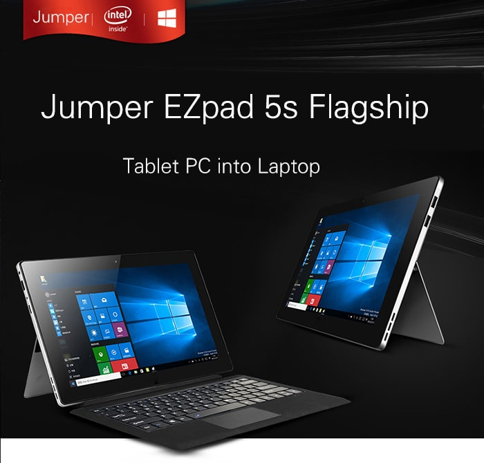 Photo of Jumper EZpad 5s: Microsoft Surface Klon für rund 200 € [Werbung]
