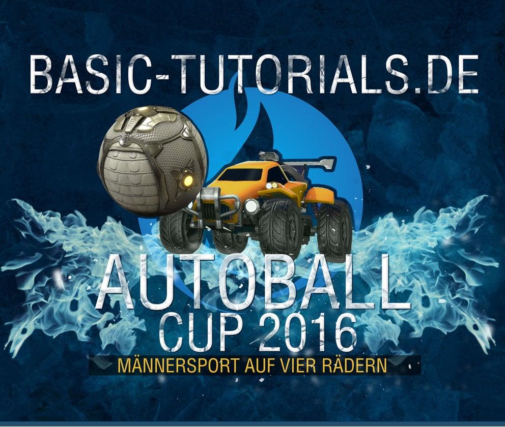 Photo of Basic-Tutorials.de Autoball Cup 2016