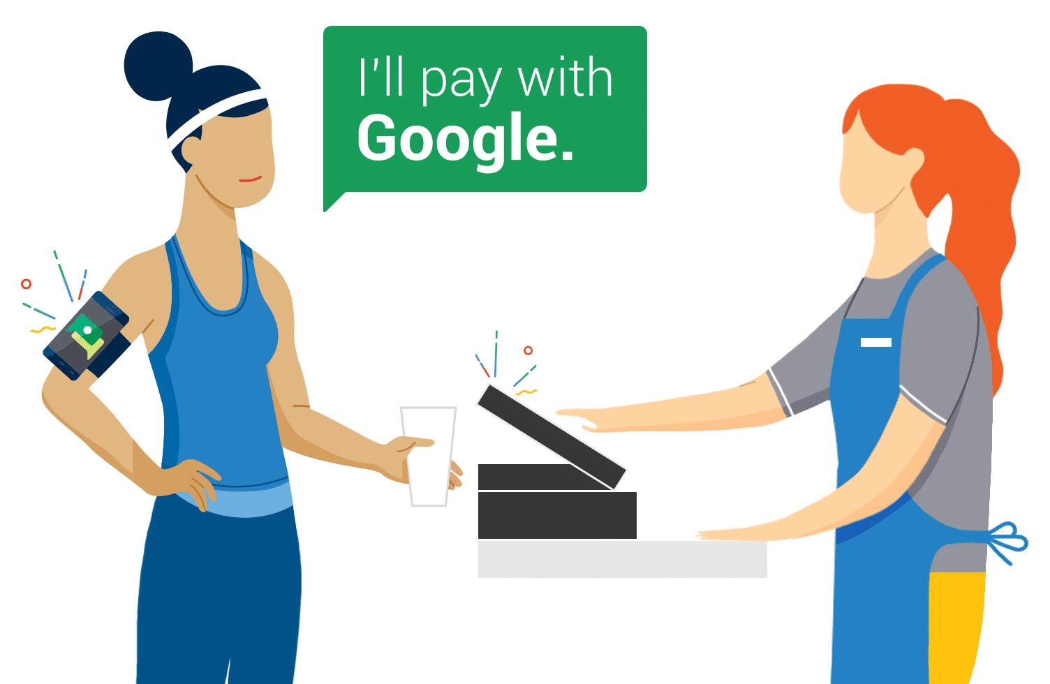 """Photo of Google Hands Free: """"Ich zahle mit Google"""" – Vielen Dank für Ihren Einkauf"""