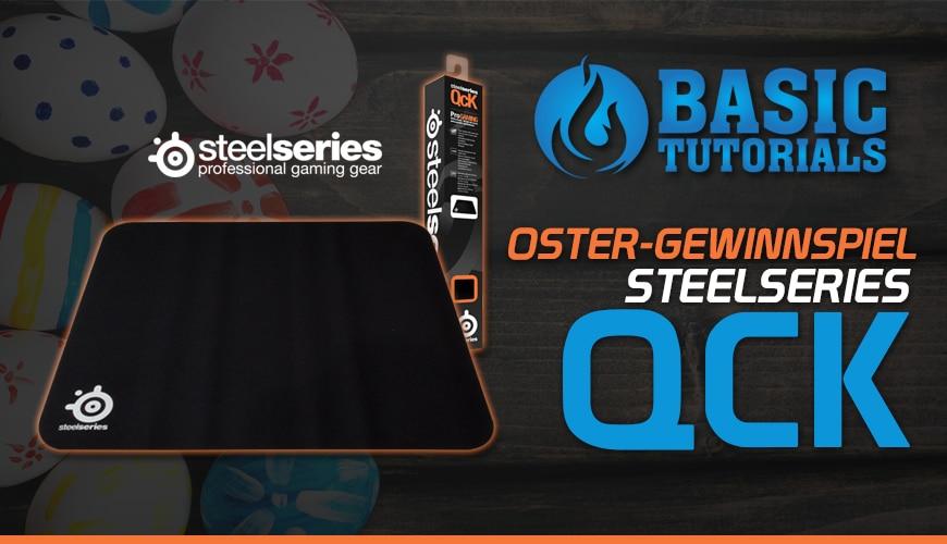Bild von Ostergewinnspiel am 26.03.16: SteelSeries QcK Mauspad