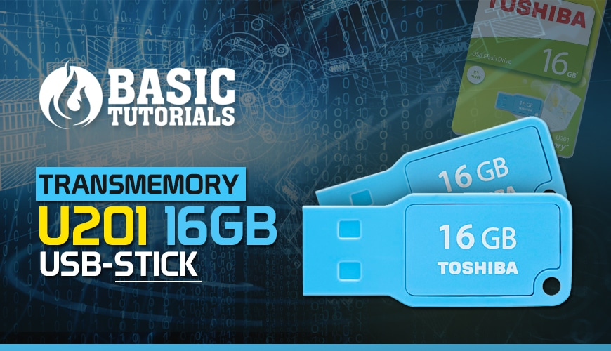 Bild von Gewinnspiel: Toshiba TransMemory U201 USB-Stick!