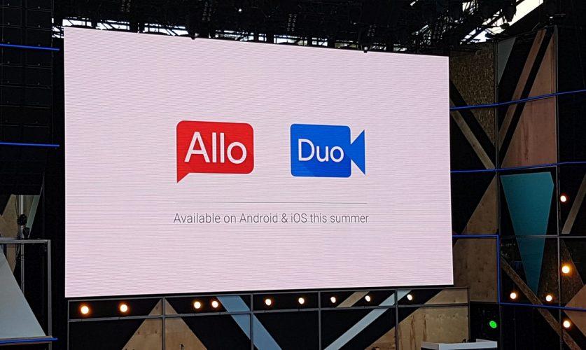 Bild von Google I/O: Neue Messenger Allo und Duo vorgestellt
