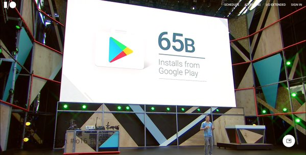 Photo of Google Play mit 65 Milliarden App-Installation im letzten Jahr