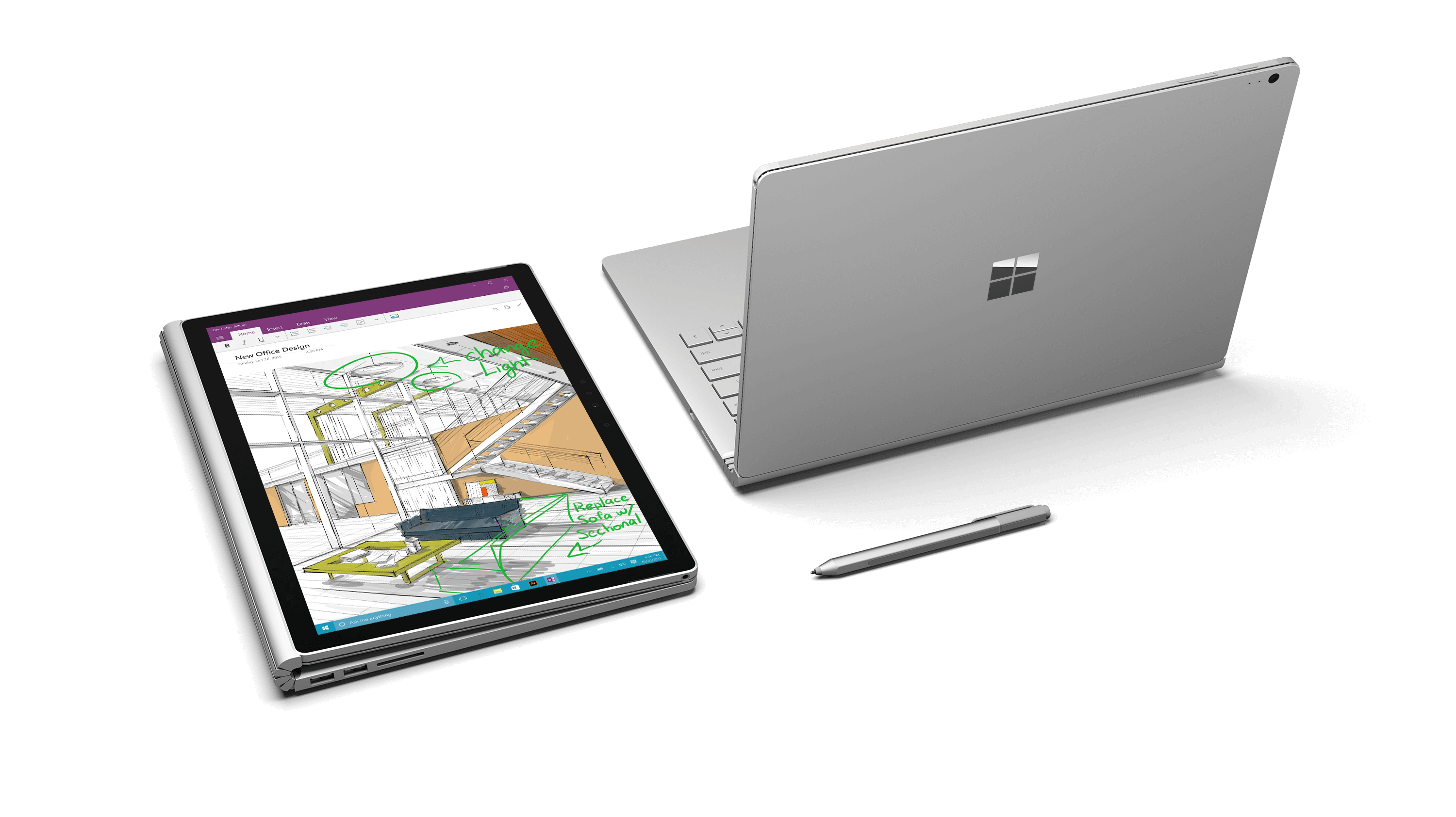 Photo of Microsoft's Surface Book im Test