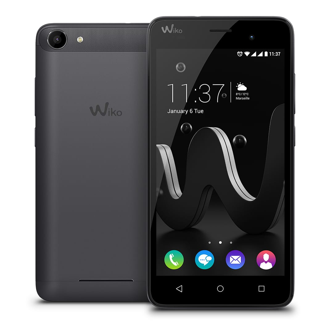 wiko jerry einsteiger smartphone mit metall design. Black Bedroom Furniture Sets. Home Design Ideas