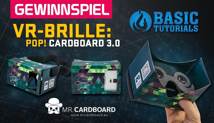 Bild von Gewinnspiel: POP! Cardboard 3.0 (VR-Brille)