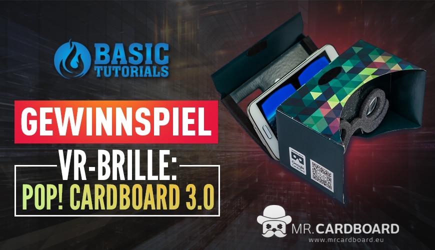Photo of Gewinnspiel: POP! Cardboard 3.0 von Mr. Cardboard