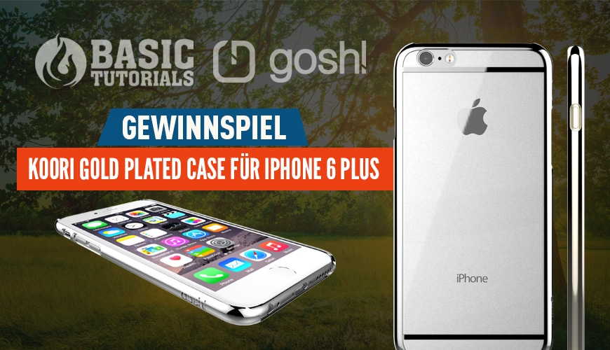 Photo of Gewinnspiel: Koori Gold Plated Case fürs iPhone 6 Plus von gosh!