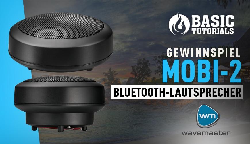 Photo of Gewinnspiel: Wavemaster Mobi-2 Bluetooth-Lautsprecher