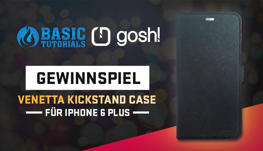 Photo of Gewinnspiel: Venetta Kickstand Case fürs iPhone 6 Plus von gosh!