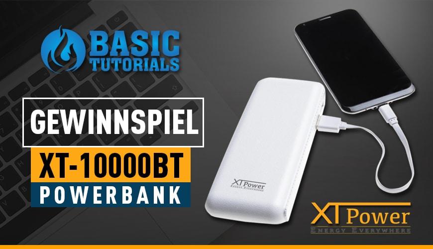 Bild von Gewinnspiel: Volle Smartphone-Akkus mit der XT-10000BT Powerbank!