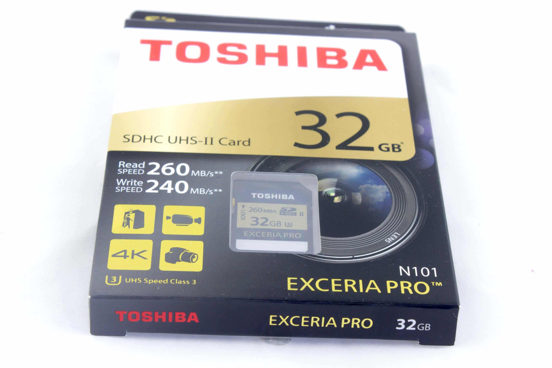 Bild von Toshiba Exceria Pro N101 32 GB: Die SD-Karte für Profis
