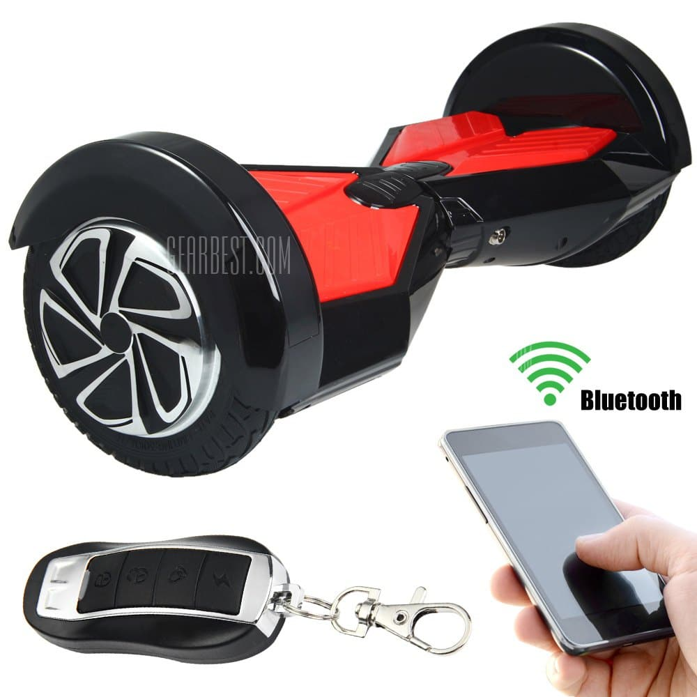 aosder q6 bluetooth hoverboard f r 150 euro bei gearbest. Black Bedroom Furniture Sets. Home Design Ideas