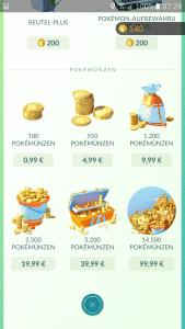 Pokémon Go Shop 2