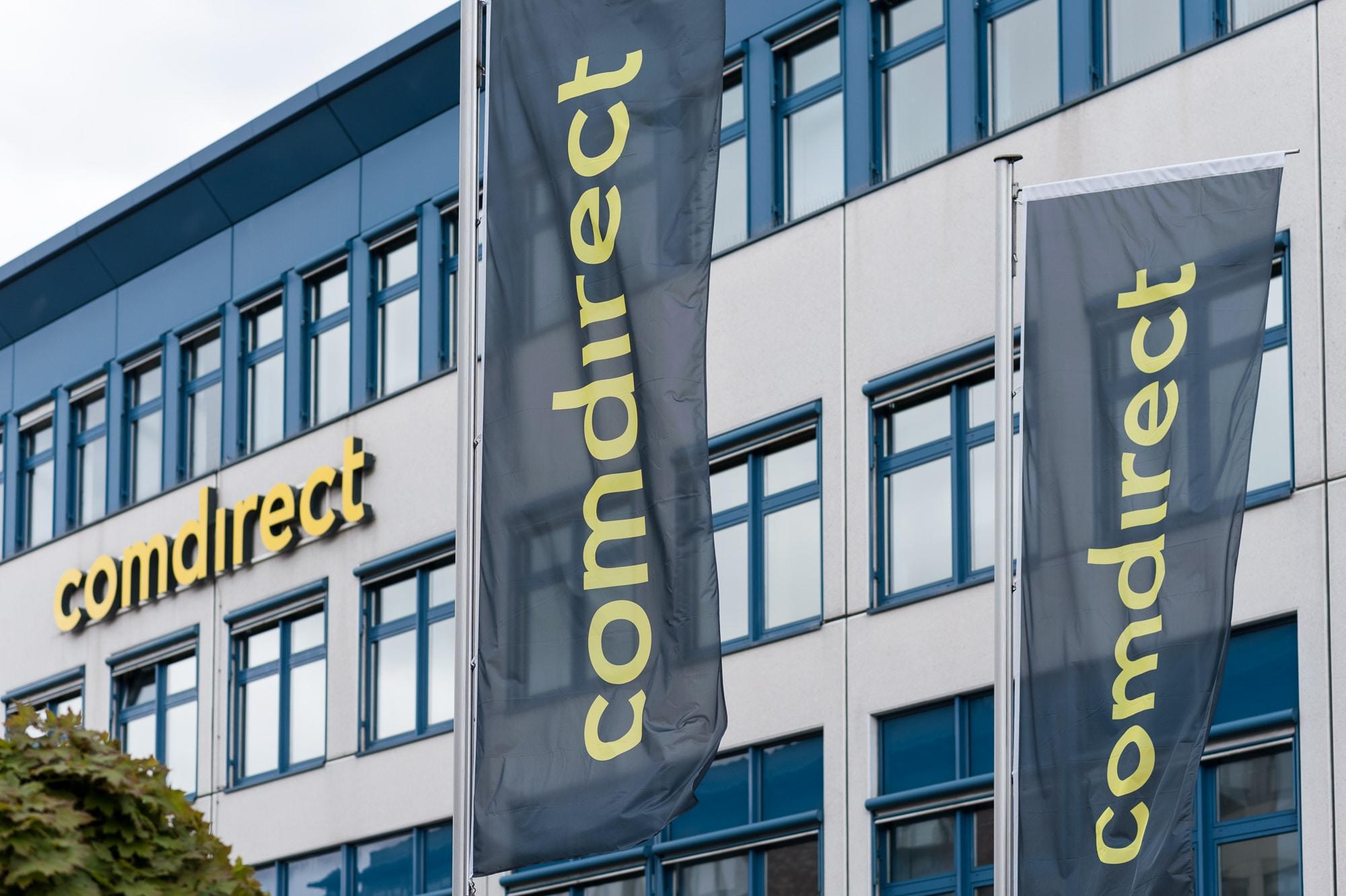 Bild von comdirect-Bank mit schwerer Sicherheitspanne in den Morgenstunden