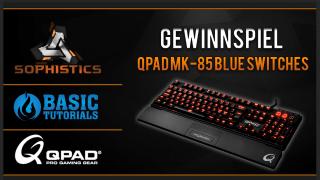sophistics gewinnspiel 320x180 - Gewinne die mechanische Tastatur MK-85 von QPAD im Wert von 150 €!