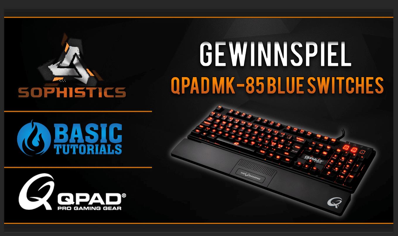 Bild von Gewinne die mechanische Tastatur MK-85 von QPAD im Wert von 150 €!