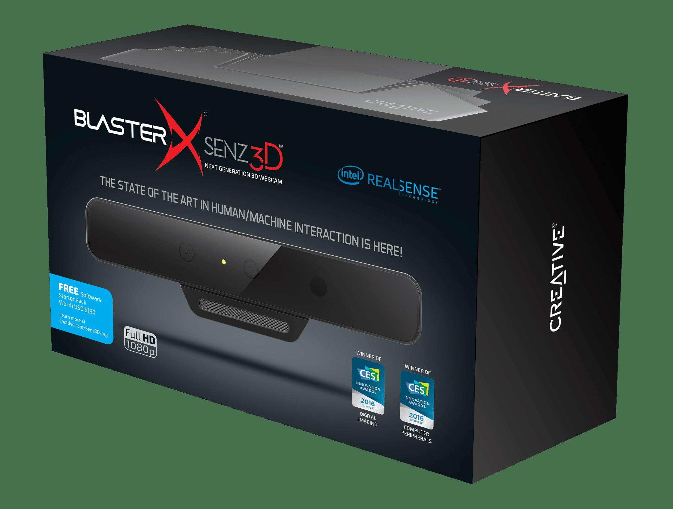 Bild von Creative BlasterX Senz3D-Kamera vorgestellt