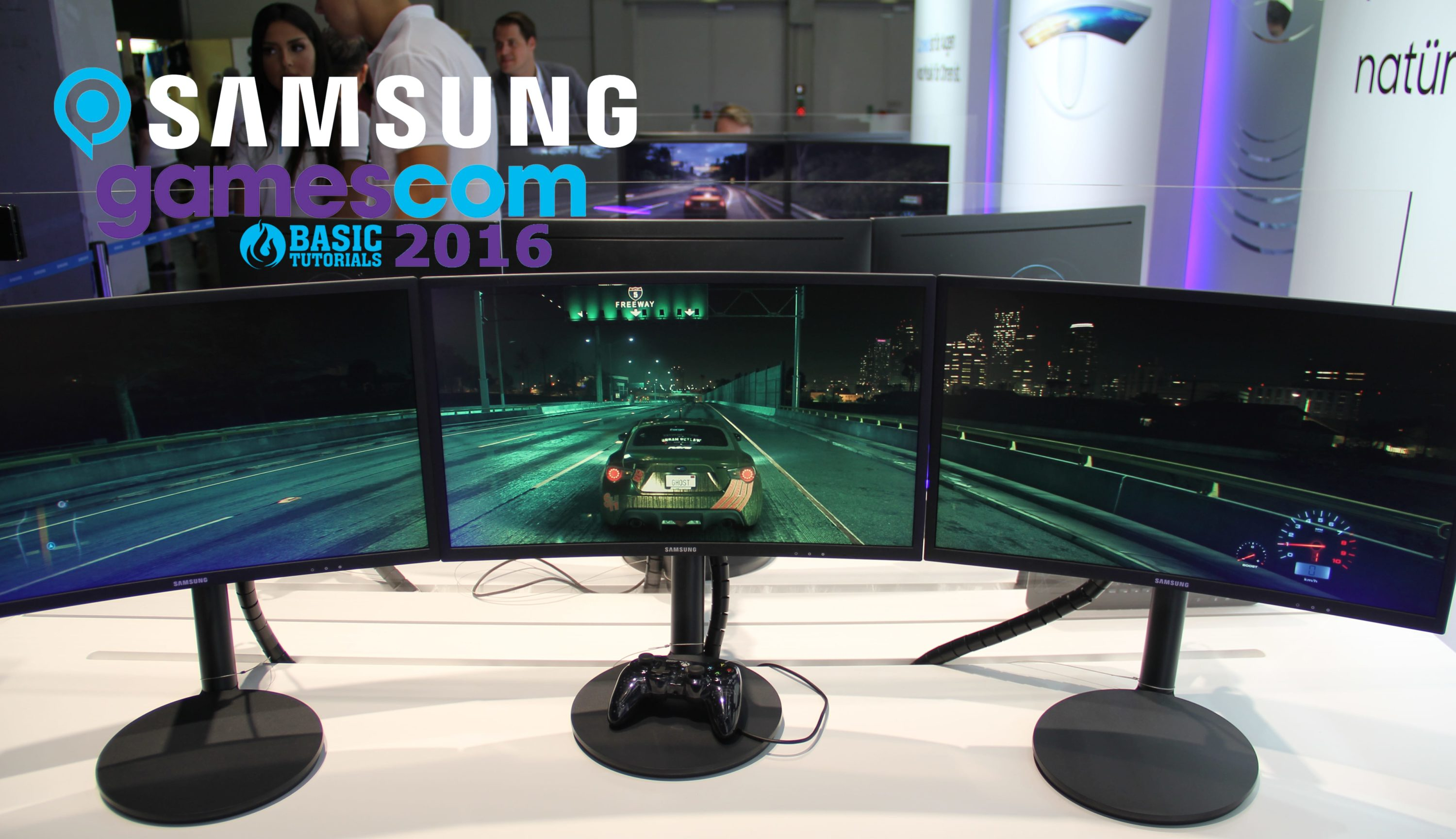 Photo of Samsung auf der gamescom – Gaming, VR, Curved, Innovationen & Premieren