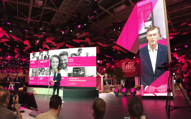 Bild von IFA: Telekom mit Neuheiten für jeden Kunden