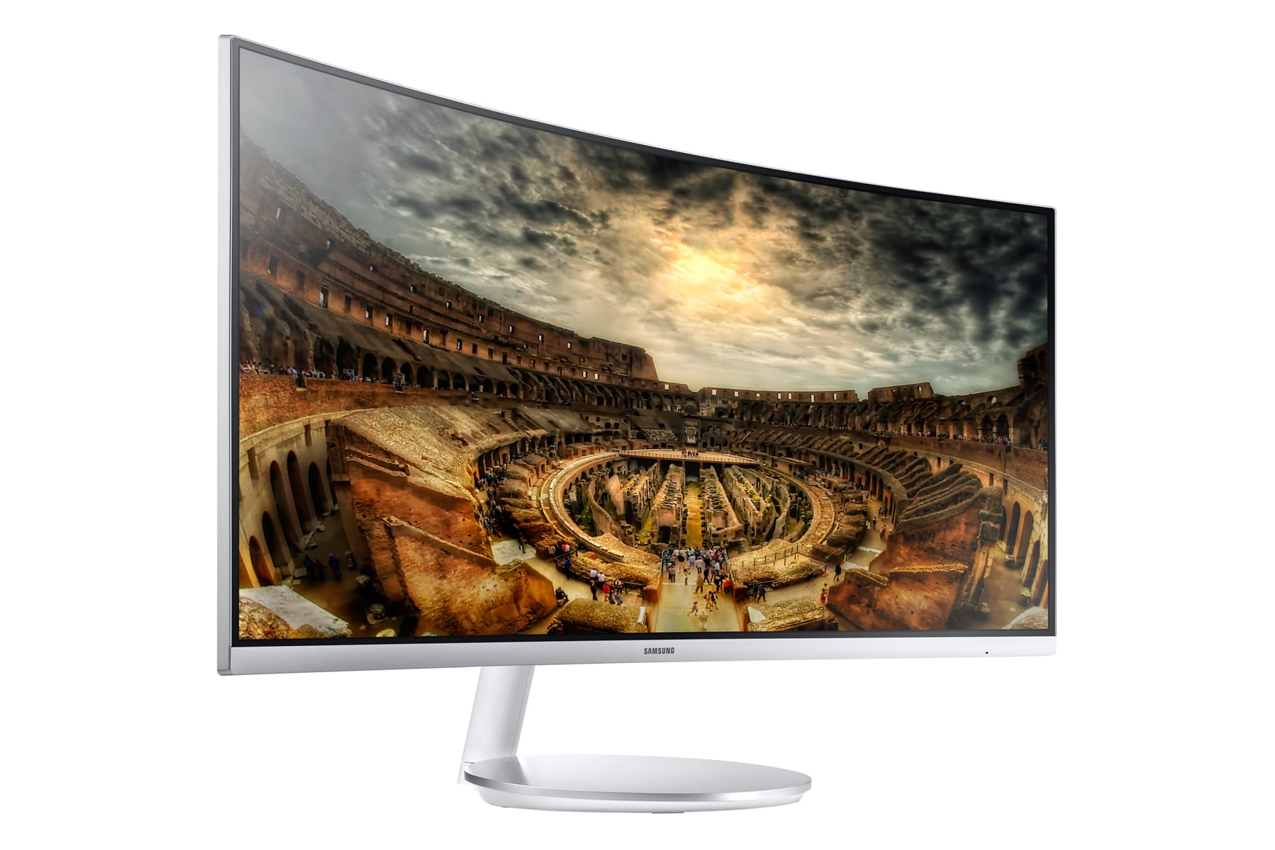 Bild von Samsung Curved Monitor C34F791: 34 Zoller mit noch mehr Wölbung