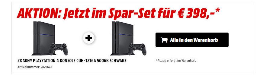 Bild von PlayStation 4 für 199 Euro: Zugreifen ist angesagt