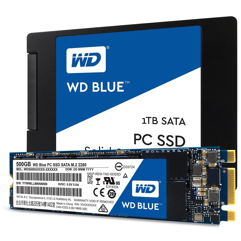 Photo of Die ersten Western Digital SSDs: WD Blue & WD Green