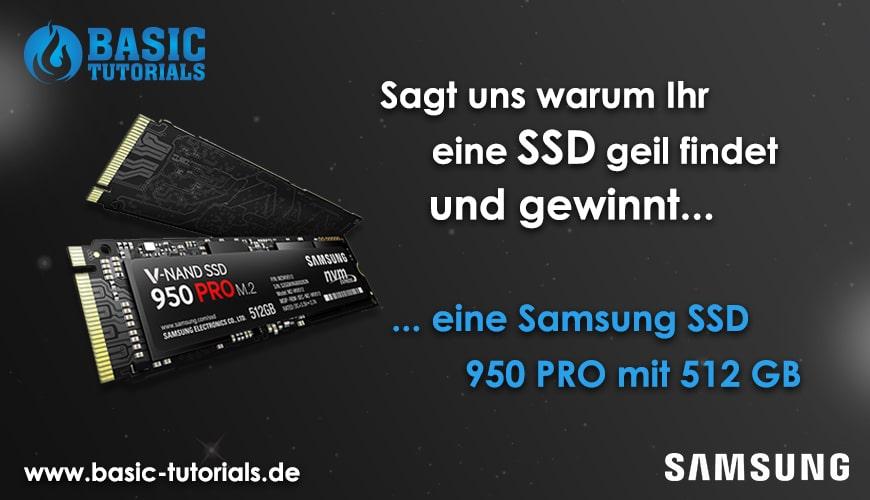 Photo of Gewinnspiel: Samsung SSD 950 Pro 512 GB