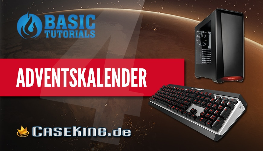 Photo of Adventskalender Türchen 4: Cougar Tastatur & Phanteks Gehäuse