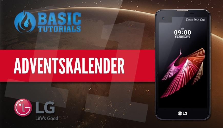 Photo of Adventskalender Türchen 11: LG X Screen Smartphone