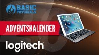 logitech adventskalender 320x180 - Adventskalender Türchen 20: Logitech Create Tastatur-Case