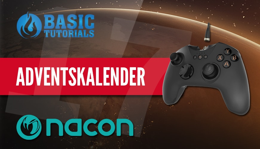 Photo of Adventskalender Türchen 17: Nacon GC-400ES Gamepad