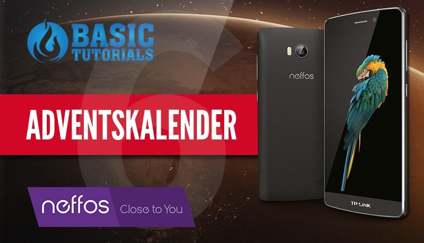 Bild von Adventskalender Türchen 6: Neffos C5 Max Smartphone