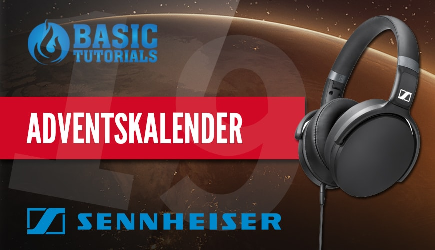Photo of Adventskalender Türchen 19: Sennheiser HD 4.30G Kopfhörer