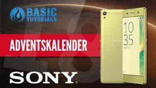 sony adventskalender 320x180 - Adventskalender Türchen 18: Sony Xperia XA Smartphone
