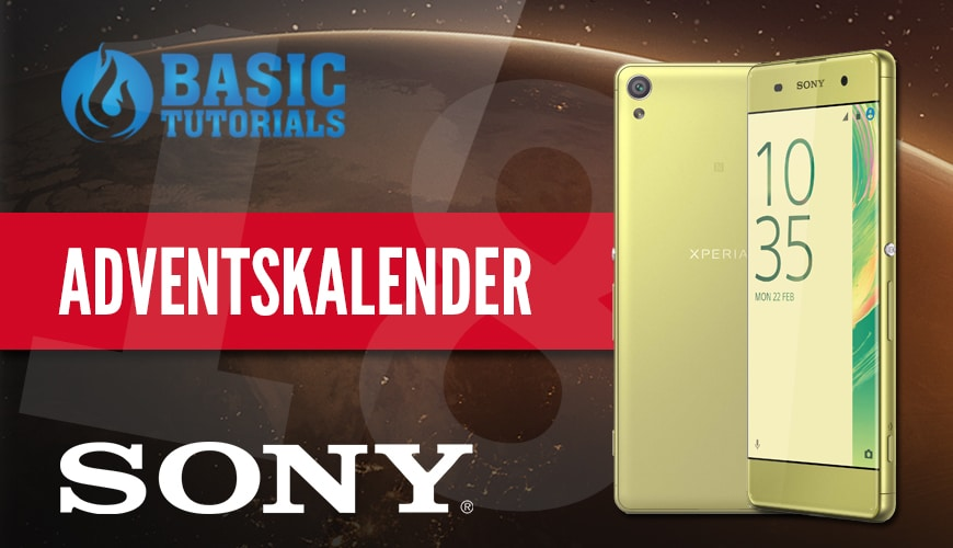 Photo of Adventskalender Türchen 18: Sony Xperia XA Smartphone