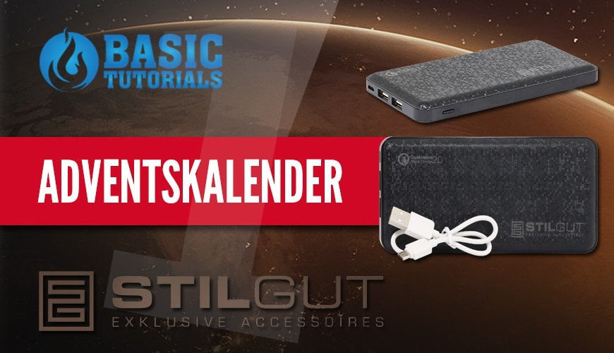 Photo of Adventskalender Türchen 1: 3x StilGut 10.000 mAh Powerbank