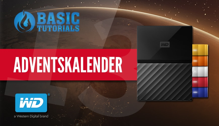 Photo of Adventskalender Türchen 13: Western Digital My Passport Festplatte
