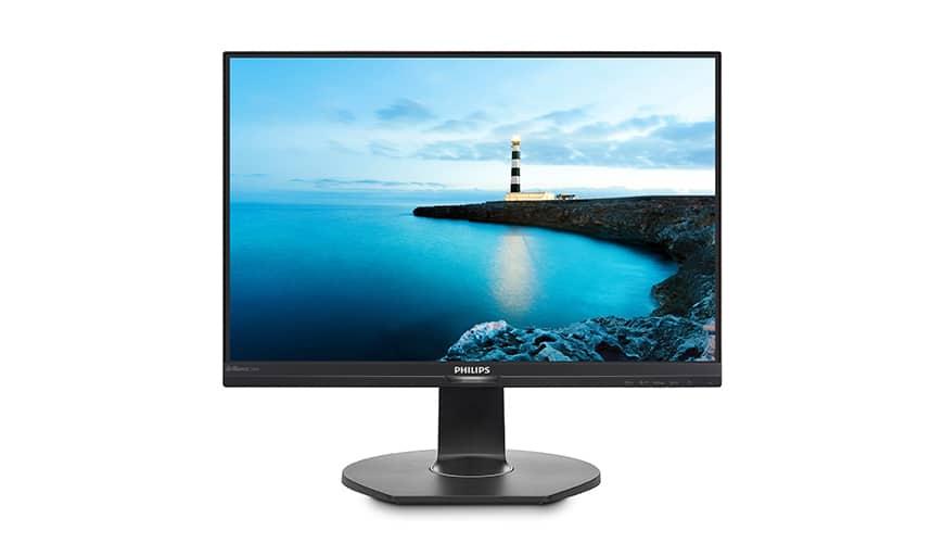 Bild von Philips 240B7QPJEB und 240B7QPTEB: 24-Zoll-Monitore im 16:10 Format