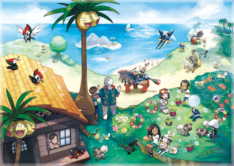 Photo of Pokémon Sonne und Mond: Neue Abenteuer in Alola!