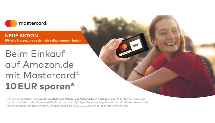 Photo of Amazon: 10 Euro Gutschein für MasterCard-Besitzer