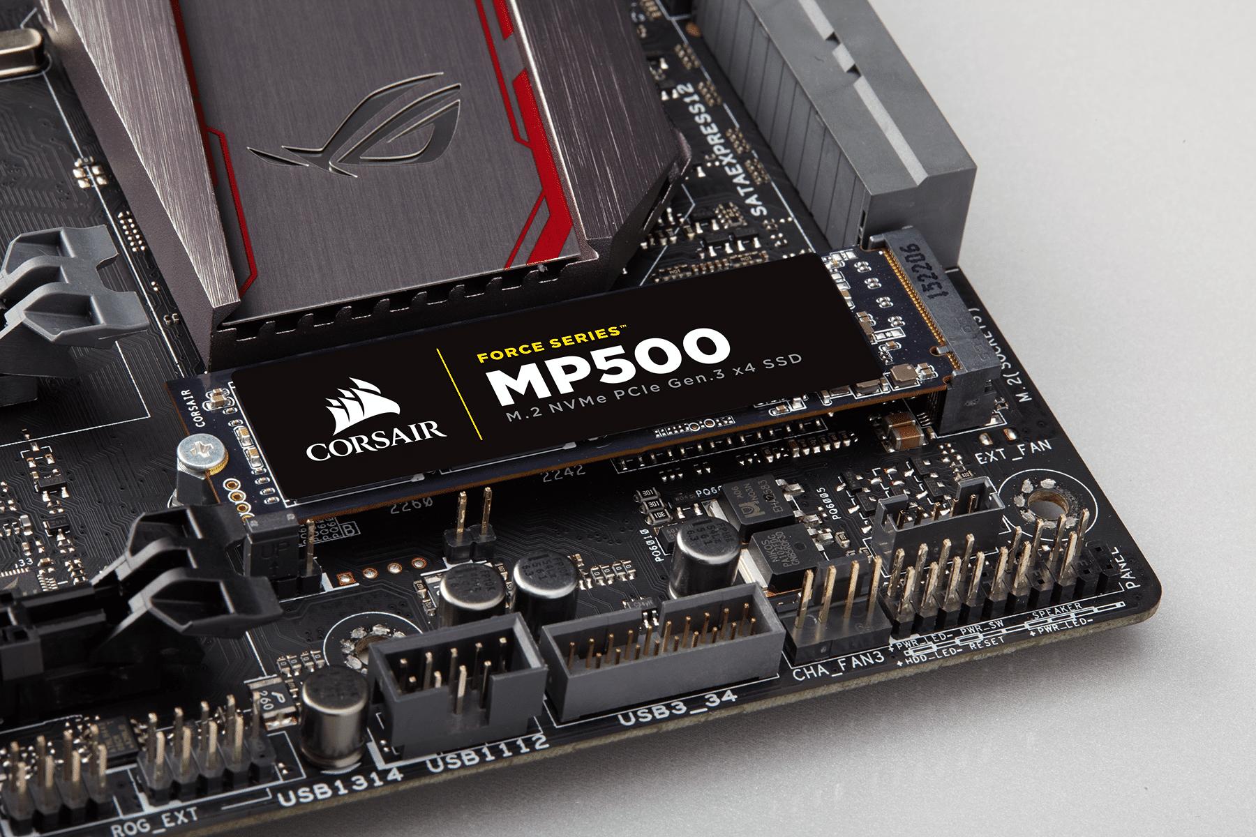 Bild von Corsair Force MP500: Neue M.2-SSDs vorgestellt