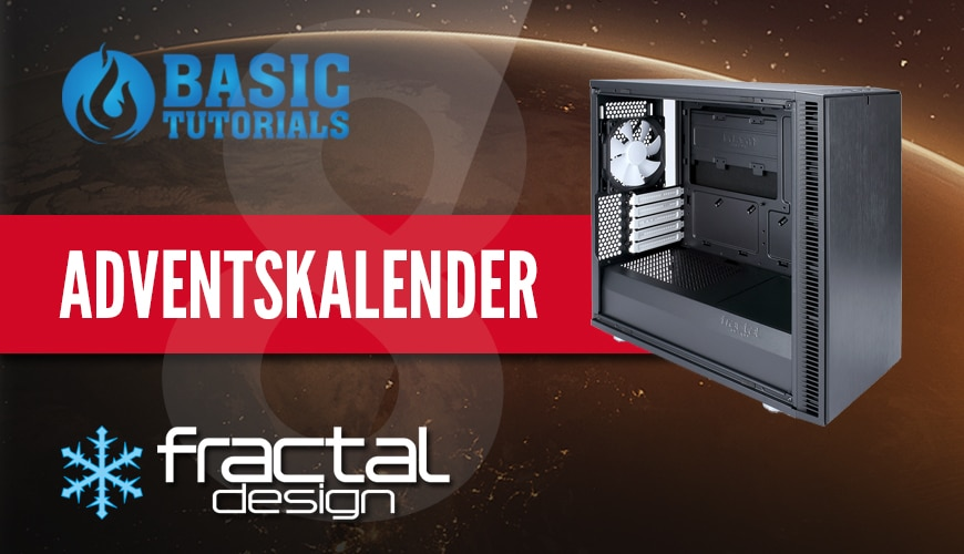 Photo of Adventskalender Türchen 8: Fractal Design Define Mini C Gehäuse
