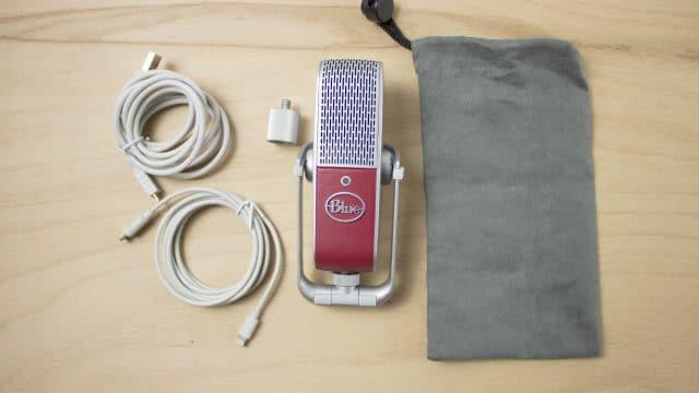 Blue Microphones Raspberry Lieferumfang