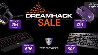 DreamHack: Tesoro mit günstiger Gaming-Peripherie & Gewinnspiel