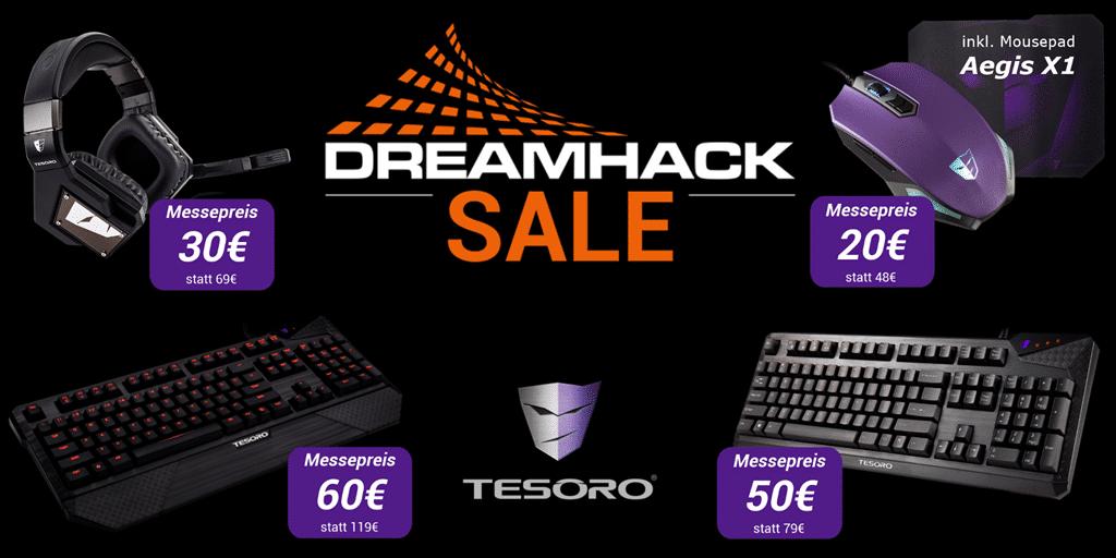 Photo of DreamHack: Tesoro mit günstiger Gaming-Peripherie & Gewinnspiel