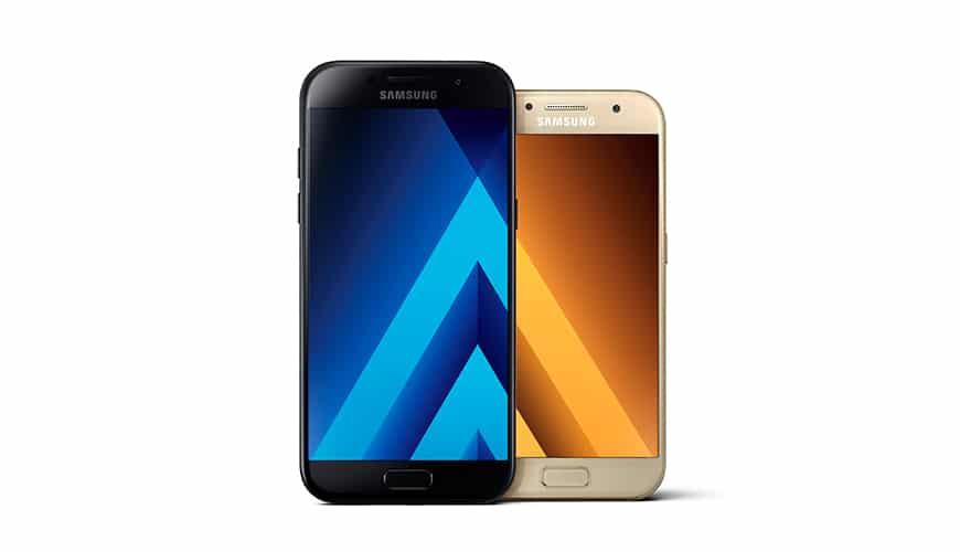 Bild von Samsung Galaxy A3 und A5 (2017) vorgestellt