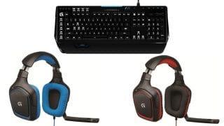 Logitech Gaming Zubehoer 320x180 - Gaming Zubehör von Logitech im Angebot