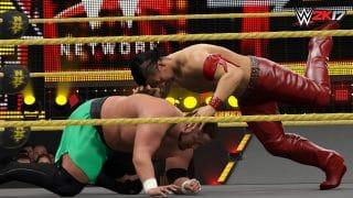 NakamuraSamoa4 320x180 - WWE 2K17 im Test - Sieg oder Niederlage?