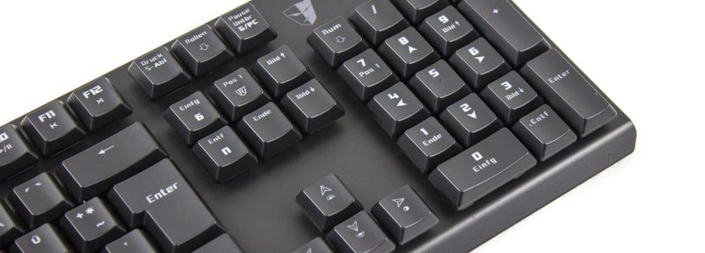 Tesoro Gram Spectrum 04 1002x360 - Tesoro Gram Spectrum: Mechanische Tastatur mit Low-Profile-Keycaps im Test